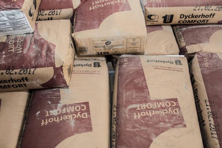 ZEMENT 25 kg Sack Sortennummer: 122739 Lieferwerke: Recyclingwerk