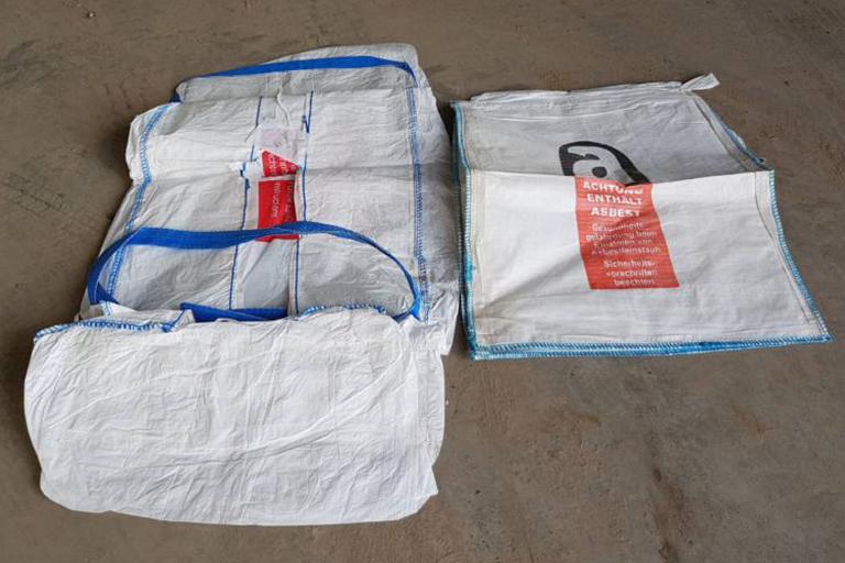 BIG BAG FÜR ASBEST Abfallschlüssel: Sortennummer: 4089 Lieferwerke: Recyclingwerk