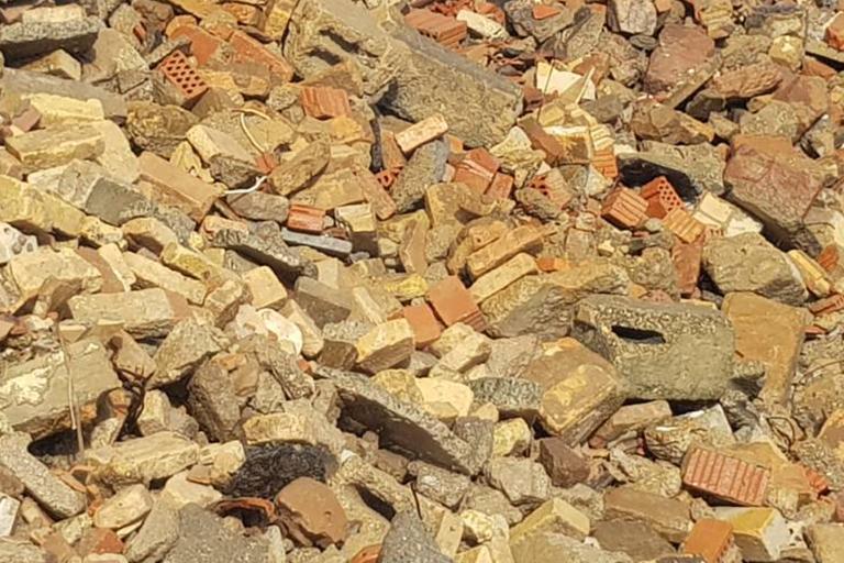 MAUERABBRUCH AUS GEBR. STEINEN, ZIEGEL Abfallschlüssel: 170102 Sortennummer: 122257 Lieferwerke:Recyclingwerk