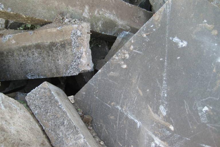NATURSTEINABBRUCH Abfallschlüssel: 170504 Sortennummer: 122290 Lieferwerke:Recyclingwerk